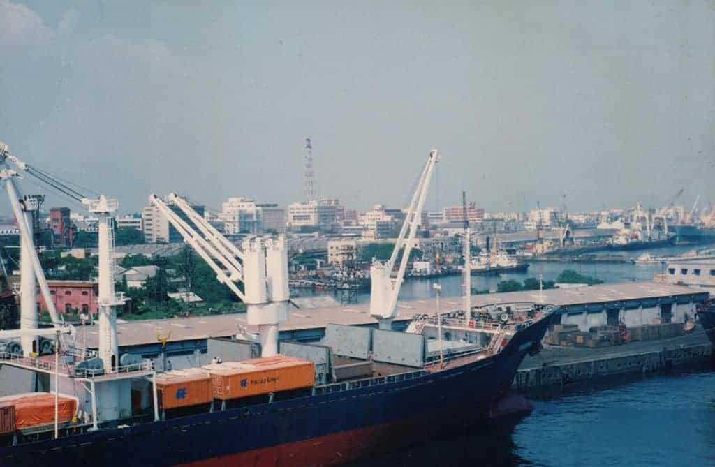 चेन्नई बंदरगाह 1