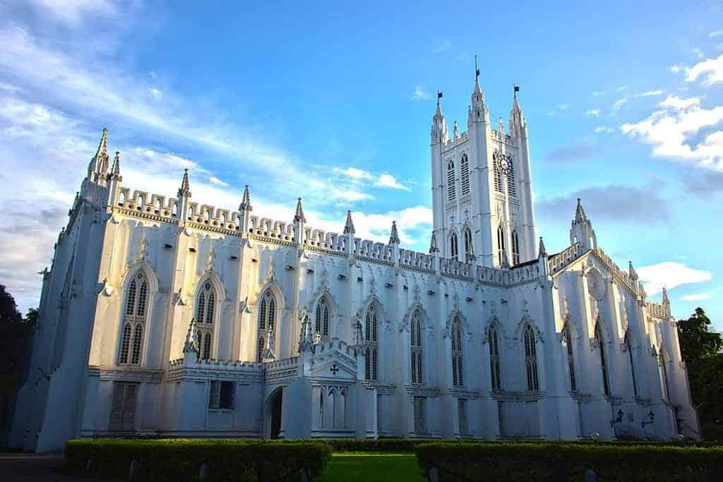 सेंट पॉल कैथेड्रल, कोलकाता 1