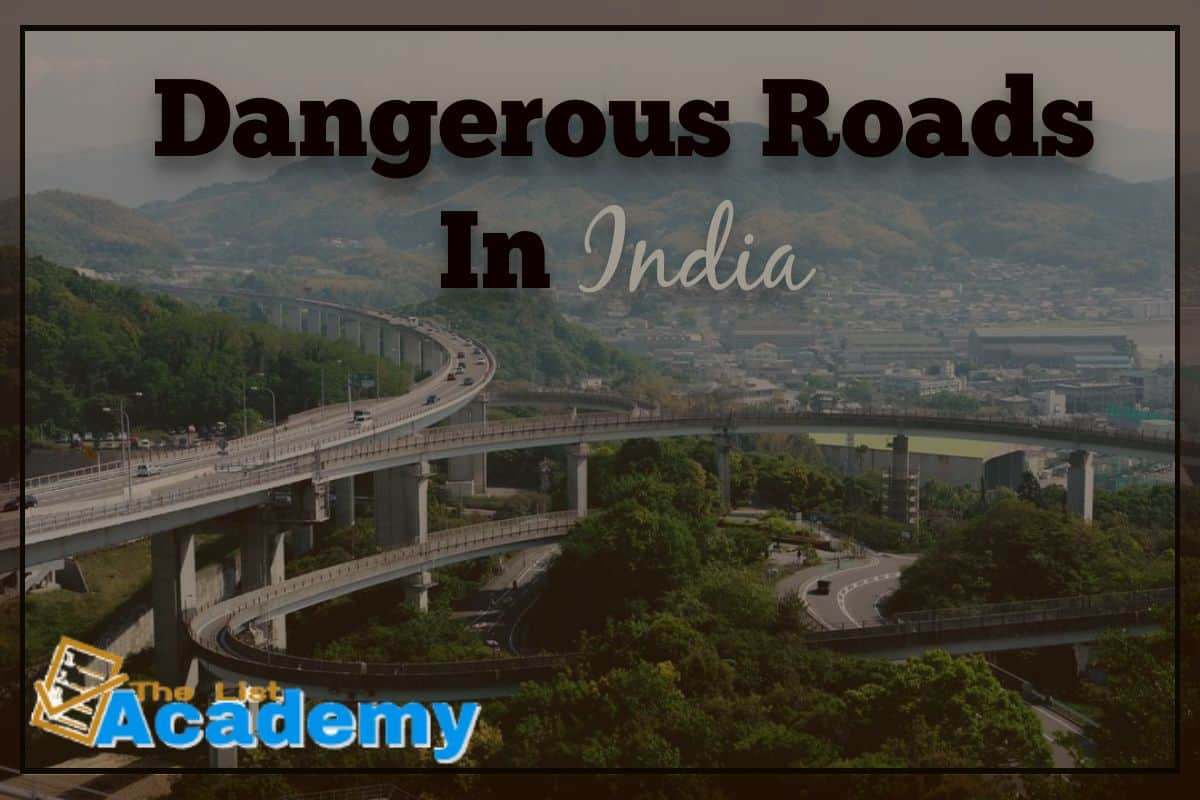Cover Image For List : 10 Dangerous Roads In India
