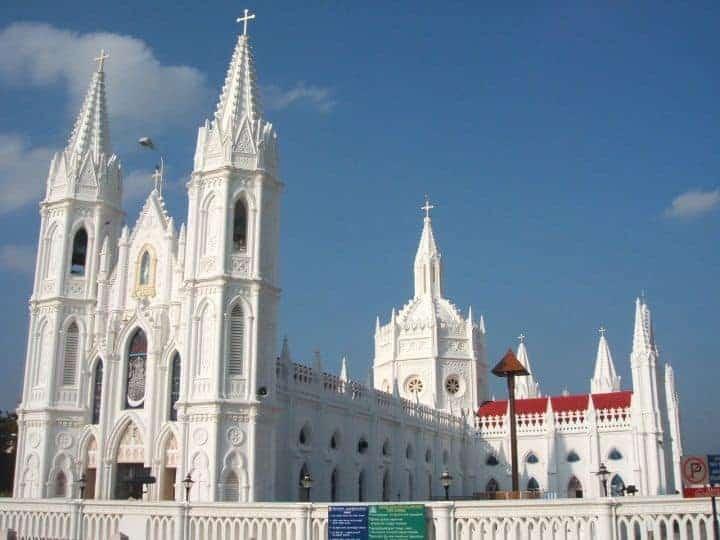 वेलंकन्नी चर्च, तमिलनाडु 1