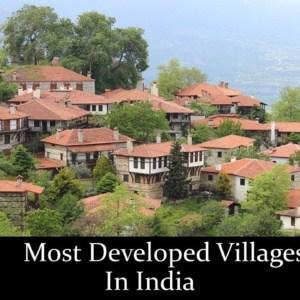 10 सबसे विकसित भारतीय गांव 3