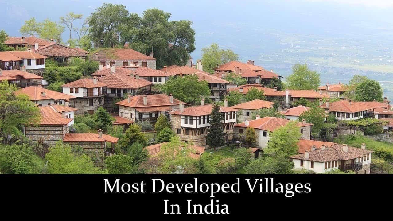 10 सबसे विकसित भारतीय गांव 1
