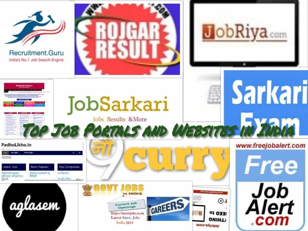 10 नौकरी सम्बन्धी शीर्ष और मुफ्त वेबसाइट्स | 1