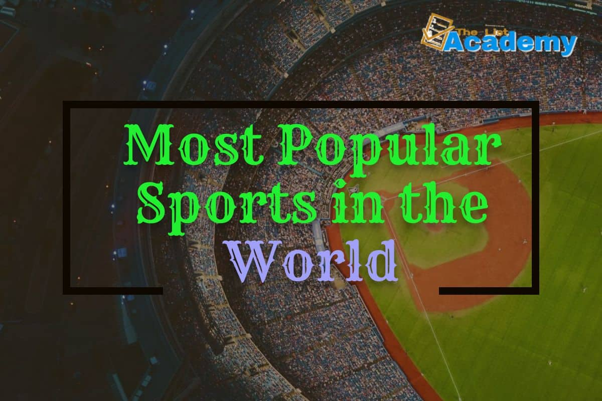 Cover Image For List : World's  31 Most Popular Sports In The World