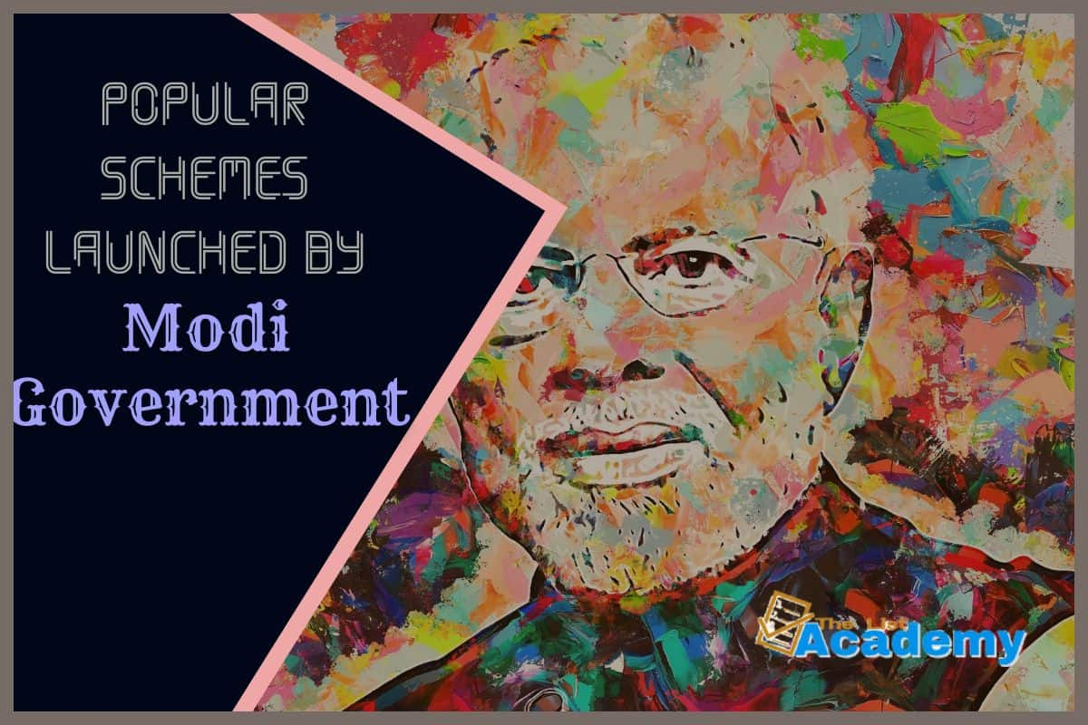 Cover Image For List : 25 Important Schemes Launched By Modi Government