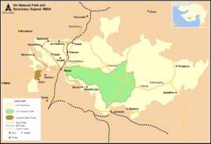 गिर वन राष्ट्रीय उद्यान Gir Forest National Park