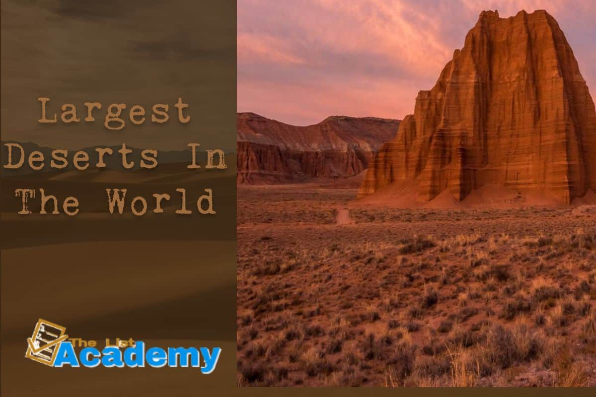 Cover Image For List : 10 Largest Deserts In The World