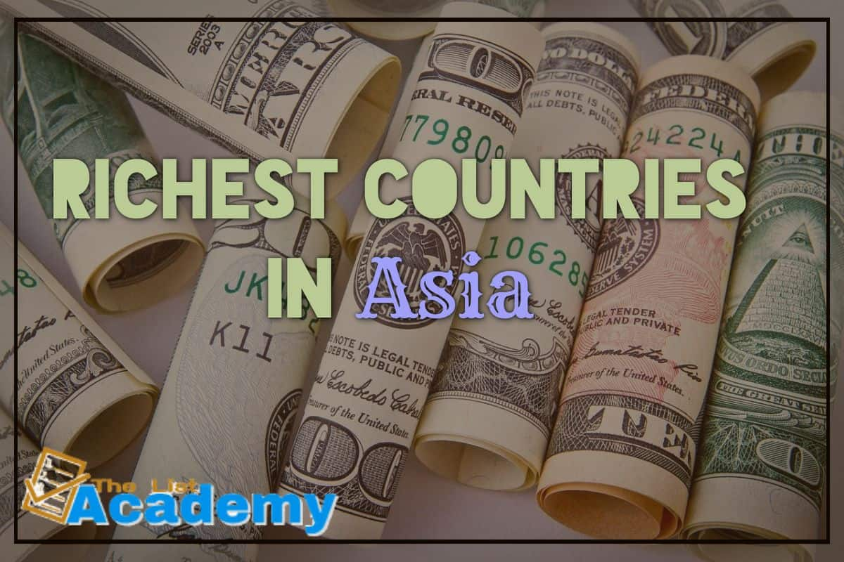 Cover Image For List : 10 Richest Countries In Asia