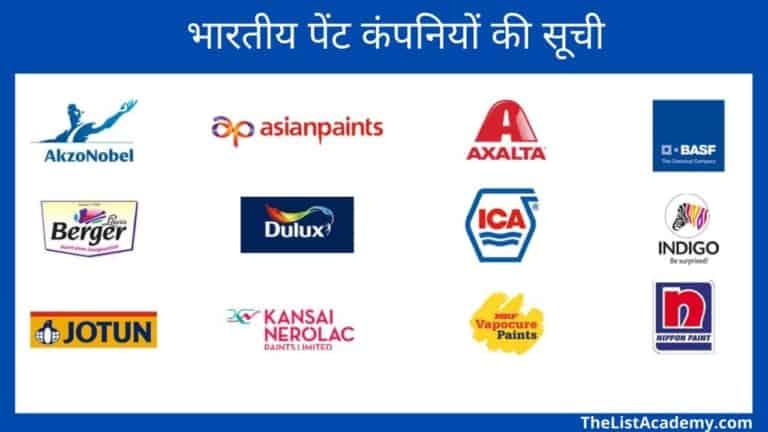 भारतीय पेंट कंपनियों की सूची 6