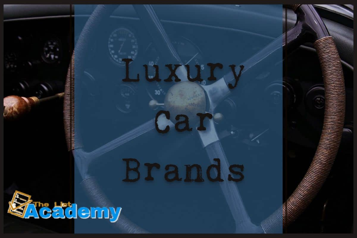 Cover Image For List : Top  10 Luxury Car Brands