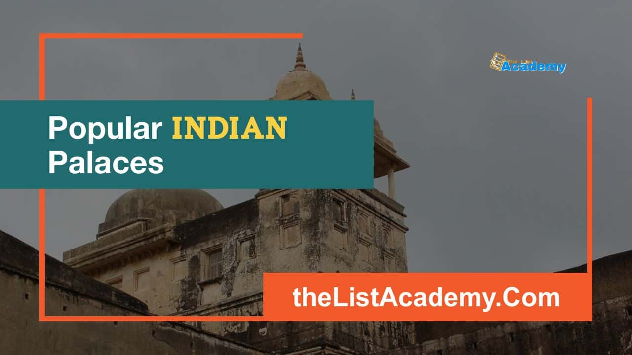 Cover Image For List : Popular Palaces In India