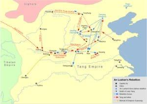 एन लुशान विद्रोह An Lushan Rebellion