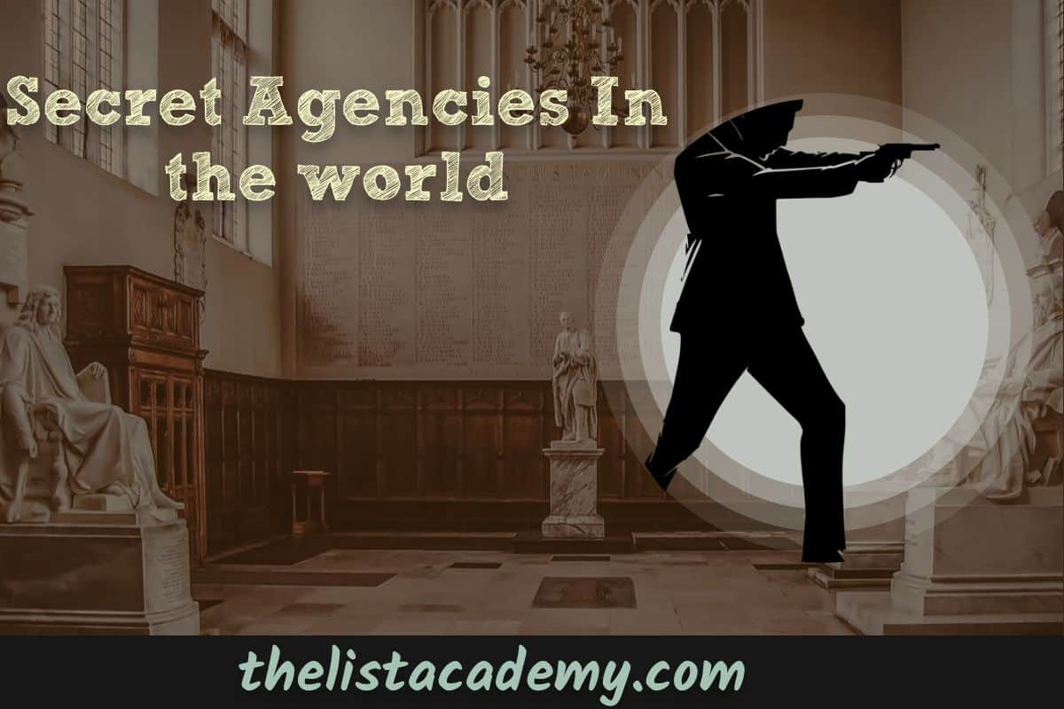 Cover Image For List : 12 Secret Agencies In The World