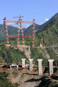 चिनाब पुल Chenab Bridge