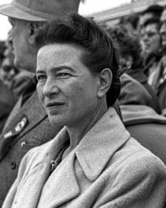 सिमोन द बोउआर Simone de Beauvoir
