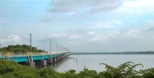 वेम्बनाड रेल पुल Vembanad Rail Bridge