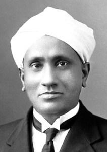 सी वी रामन C. V. Raman