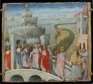 590 की रोमन प्लेग Roman Plague of 590