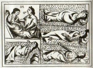 मैक्सिको में चेचक का इतिहास History of smallpox in Mexico