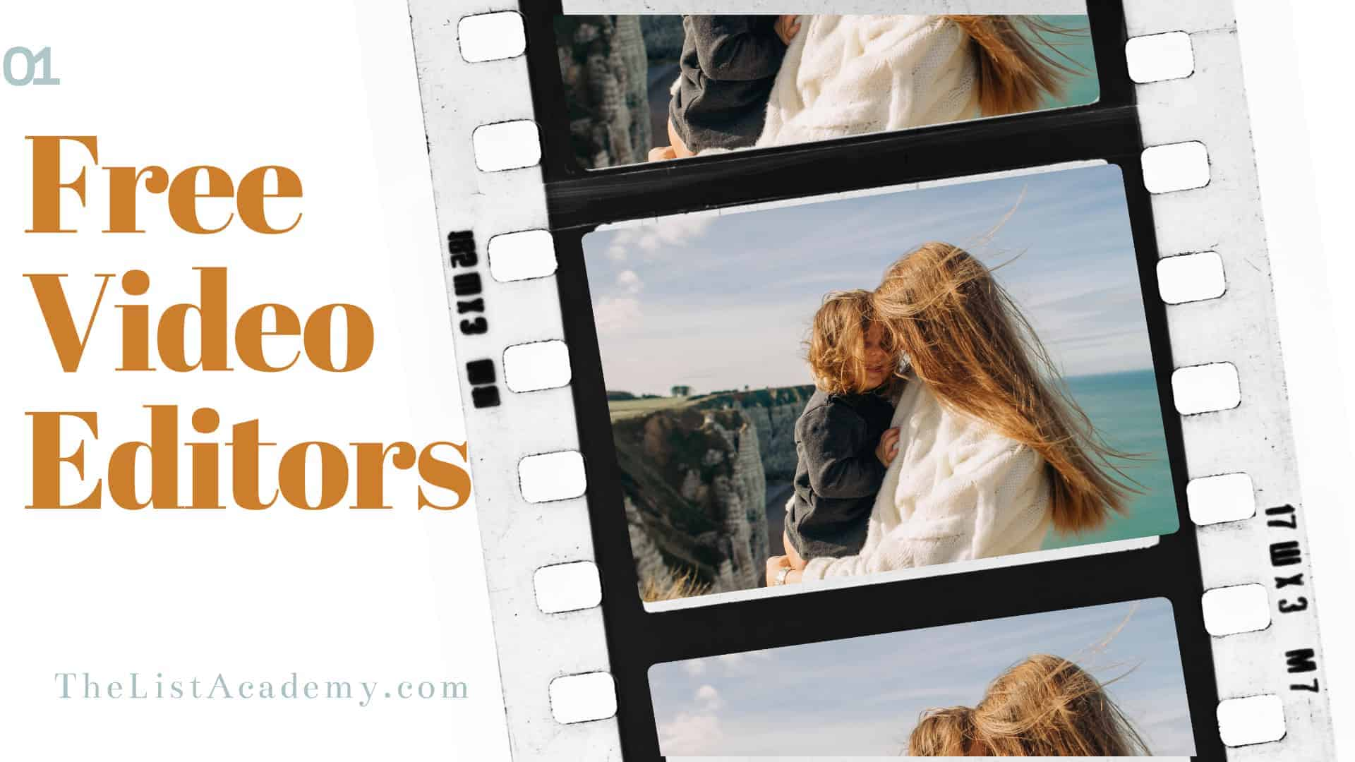 Cover Image For List : Top  20 Free Video Editors