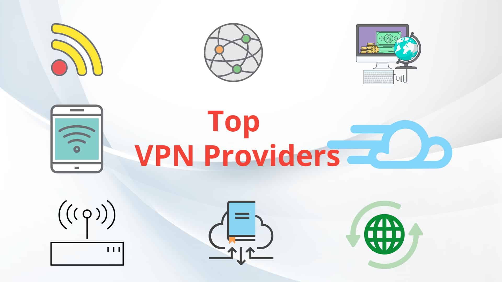 Cover Image For List : Top 5 Free Vpn Providers Without Data Limits