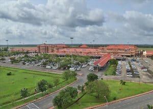 कोचीन अंतर्राष्ट्रीय हवाई अड्डा Cochin International Airport