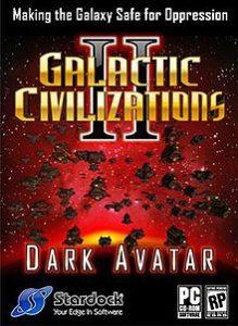 गेलेक्टिक सिविलाइज़ेशन II: डार्क अवतार Galactic Civilizations II: Dark Avatar