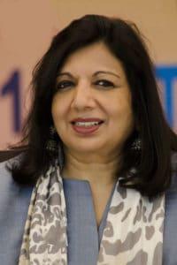 किरण मजूमदार-शॉ Kiran Mazumdar-Shaw