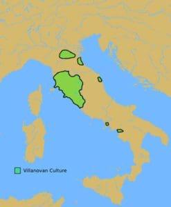 विलानोवन संस्कृति Villanovan culture
