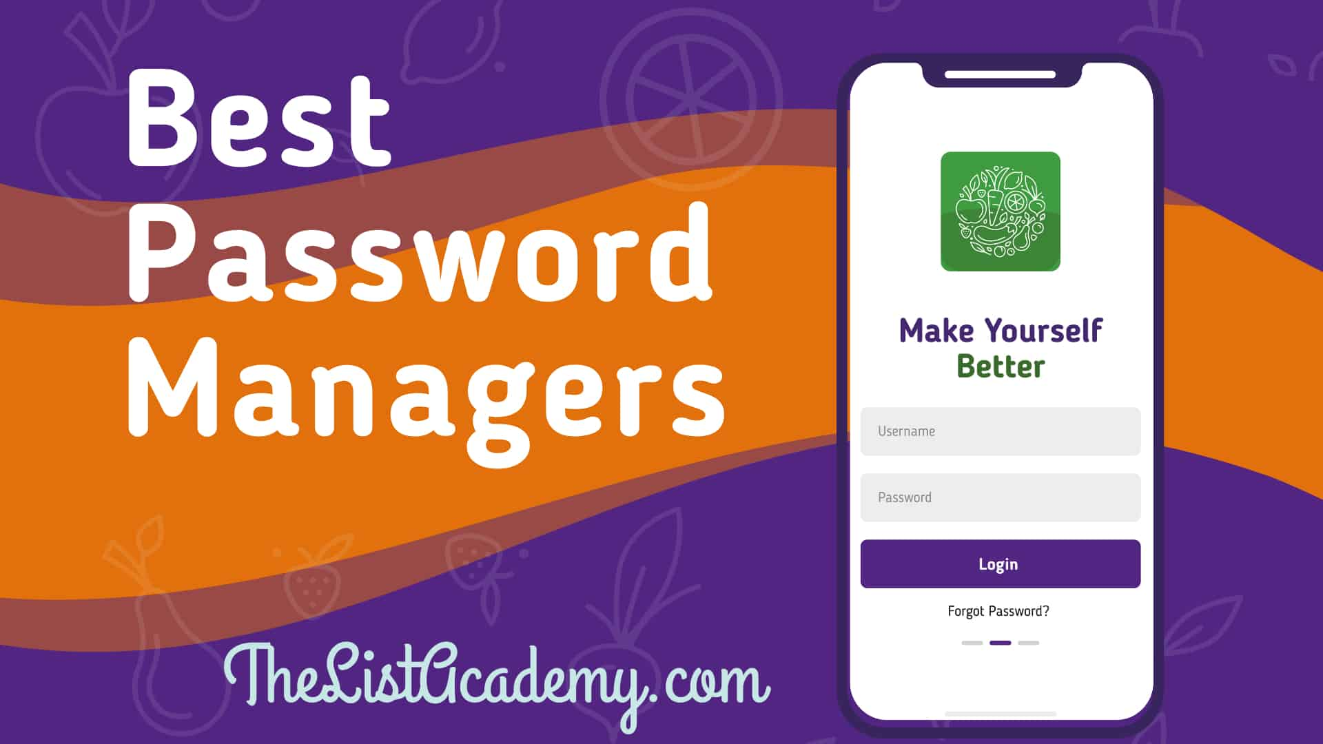 Cover Image For List : 30 Best Password Managers - Free And Paid