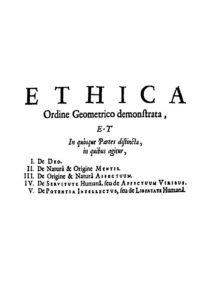 Ethics (Spinoza book)