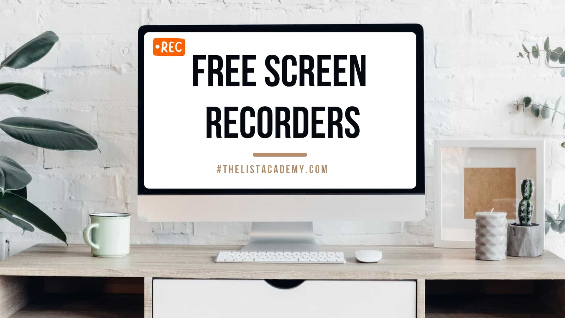 Cover Image For List : 28 Best Free Screen Recorders