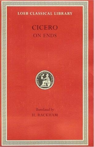 Cicero On Ends